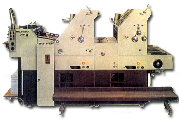 DOUBLE COLOUR OFFSET PRINTING MACHINE